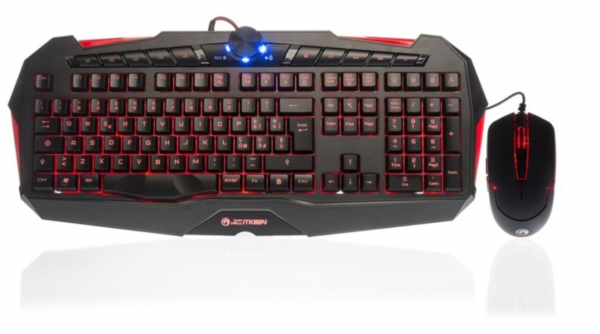 mouse e tastiera gaming cooler master