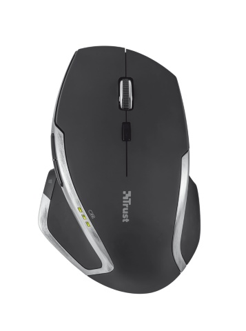 mouse trust wireless rosso