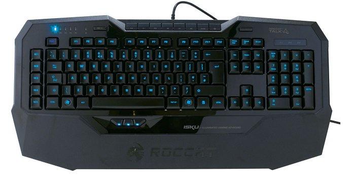 tastiera gaming con poggiapolsi